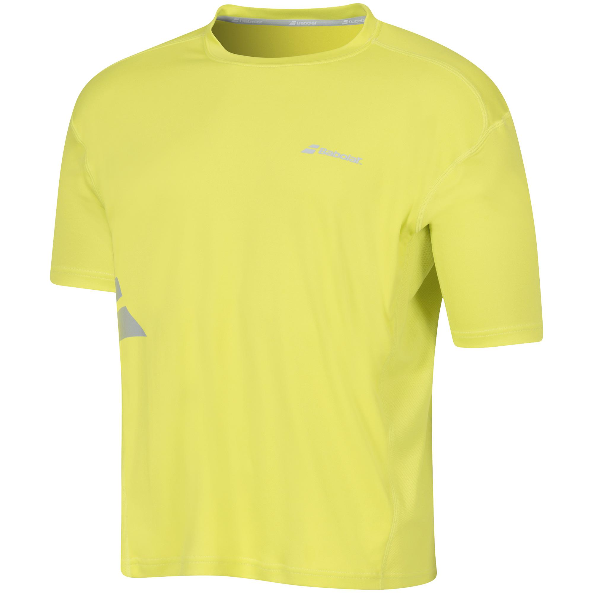 Babolat Flag Tee Men Core Yellow 2016