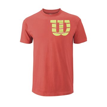 Produkt Wilson Shoulder W Cotton Tee Coral