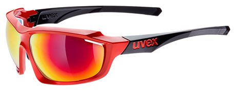 UVEX SGL 710, RED BLACK
