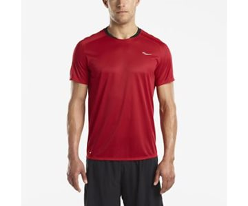 Produkt SAUCONY SHORT SLEEVE CHERRY RED