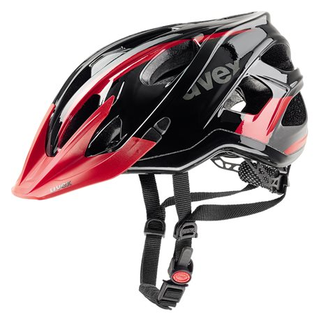 UVEX STIVO C, BLACK-RED 2017