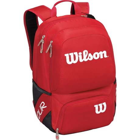 Wilson Tour V Backpack Medium Red
