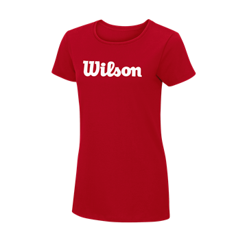 Produkt Wilson W Script Cotton Tee Red