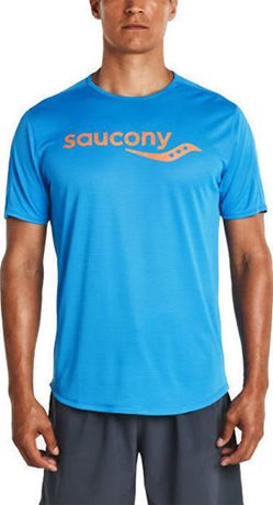 SAUCONY SAUCONY SHORT SLEEVE BRILLIANT