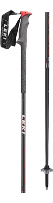Leki  Hurricane anthracite metallic/black-grey-neonred 6432702 18/19