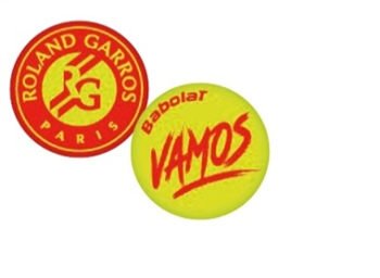 Babolat Vamos Dampener French Open
