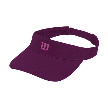 Produkt Wilson Rush Knit Visor Ultralight Dark Purple