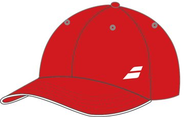 Produkt Babolat Cap Basic Red 2018 Junior