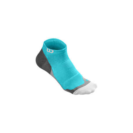Wilson W Color High End No Show Sock Blue