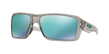 OAKLEY Double Edge Grey Ink w/ Jade Irid
