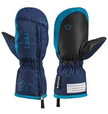 Leki Little Snow Mitt navy-sky 643890401 20/21