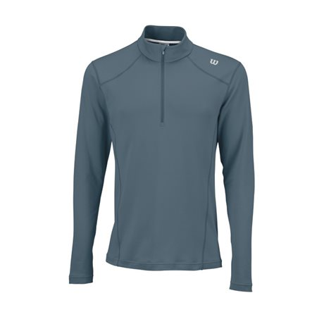 Wilson Nvision Zip Neck Long Sleeve