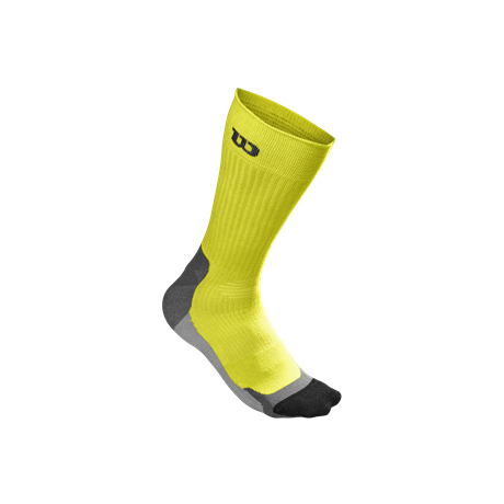 Wilson M Color High End Crew Sock Yellow
