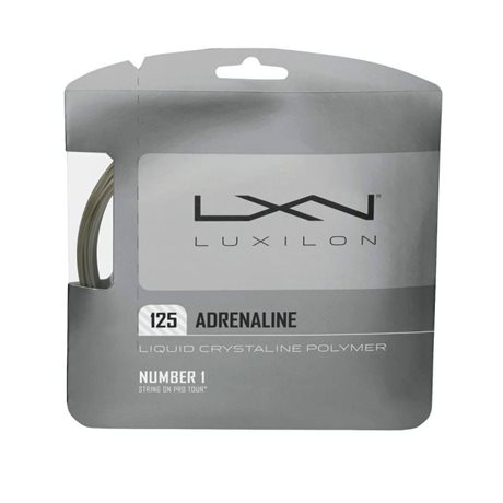 Luxilon Adrenaline 125 Set Silver