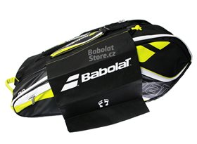 Babolat-Team-Line-Racket-Holder-Yellow-X12-2016_07