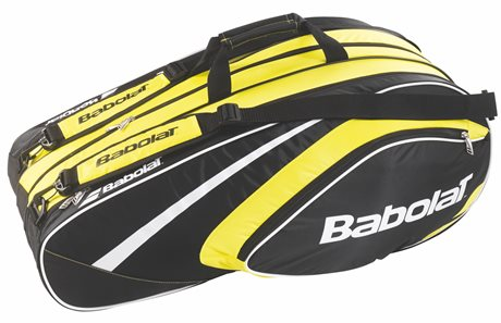 Babolat Club Line Racket Holder X12 Yellow 2015