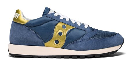Saucony Jazz Original Vintage Navy/Gold